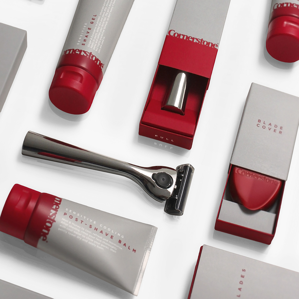 Cornerstone shaving products