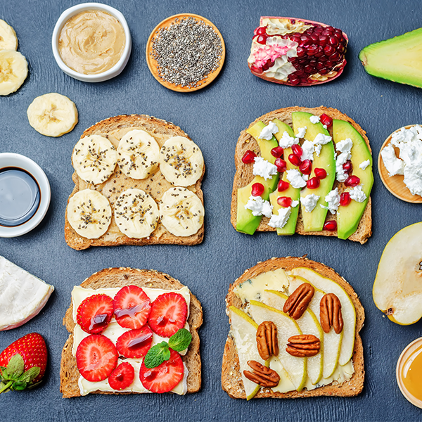 The Brunch Series: Creative Toast Toppings