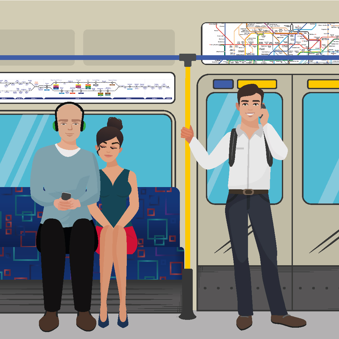 Tube Etiquette: Do's and Don'ts