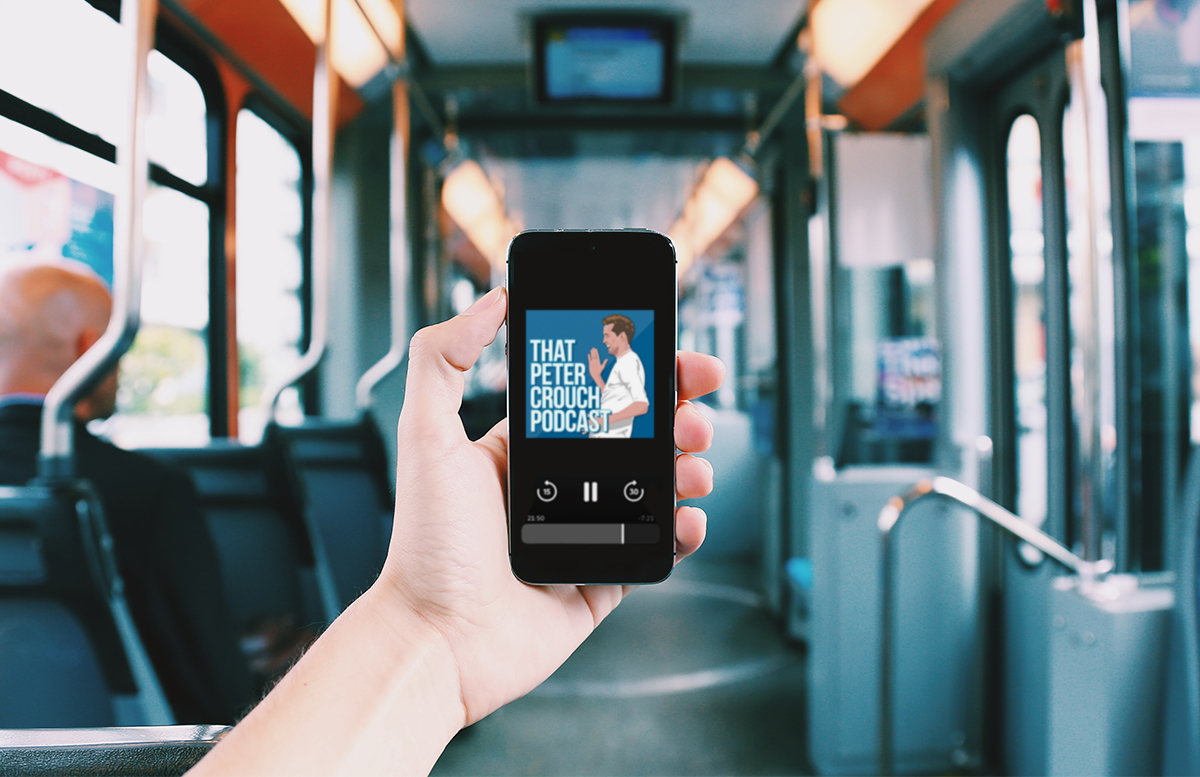 Five Podcasts to liven up YOUR Commute